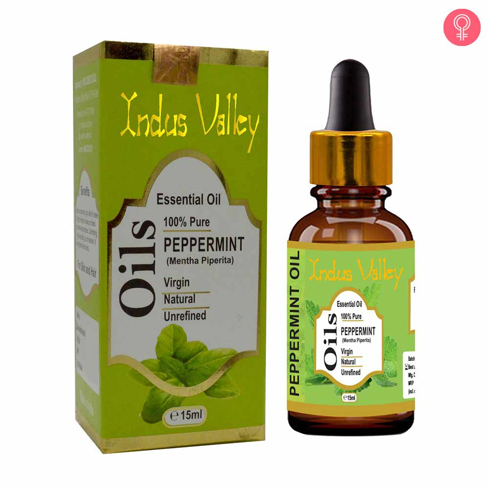 Indus Valley 100% Pure Peppermint Essential Oil