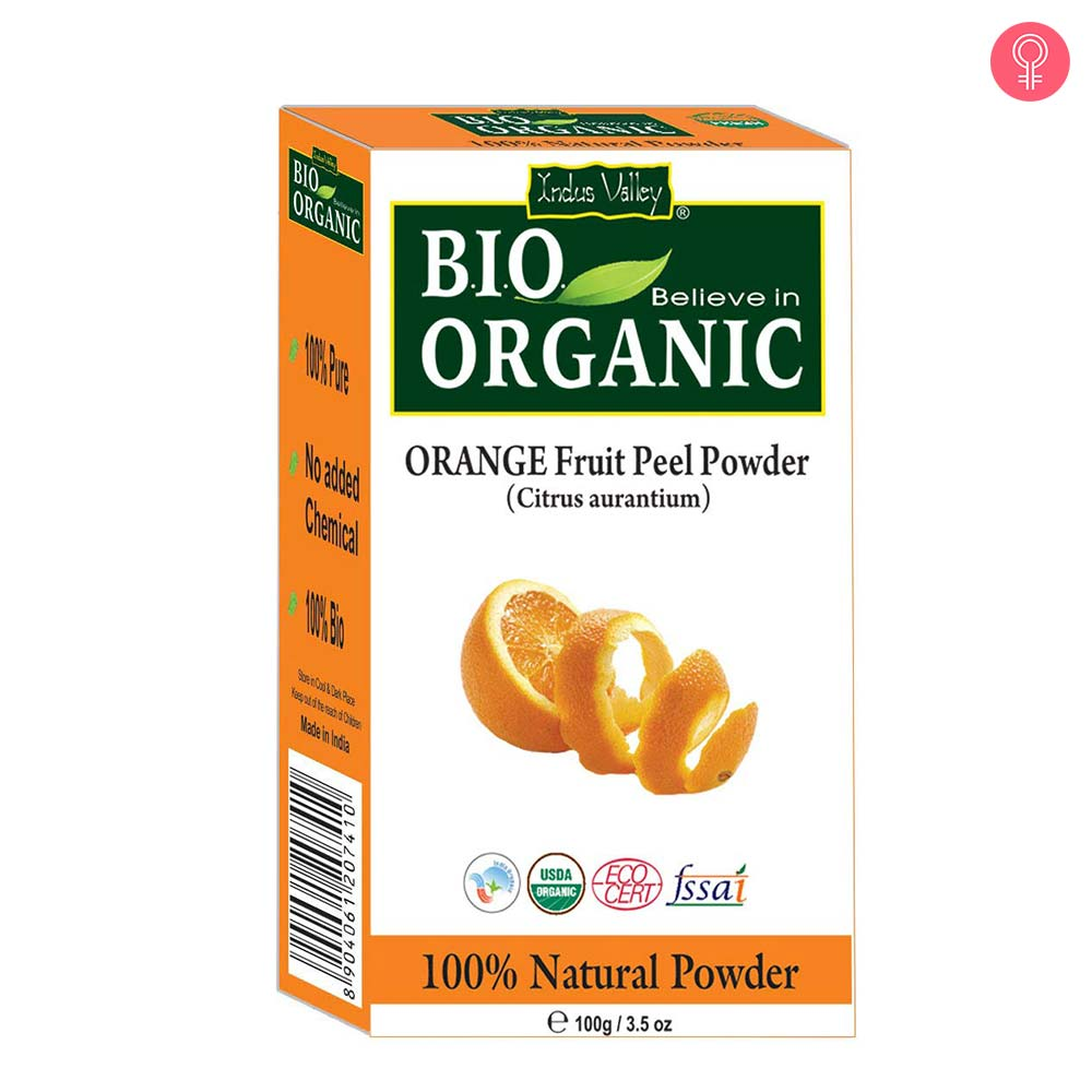 Indus Valley Bio Organic 100% Herbal Orange Peel Powder