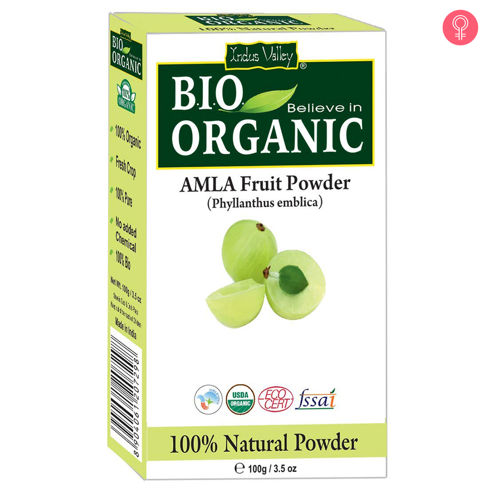 Indus Valley Bio Organic 100% Natural Amla Powder
