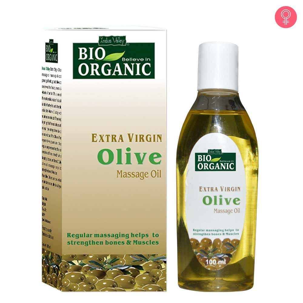 Indus Valley Bio Organic Extra Virgin Olive Massage Oil