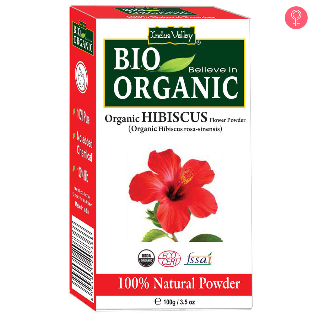 Indus Valley Bio Organic Hibiscus Powder