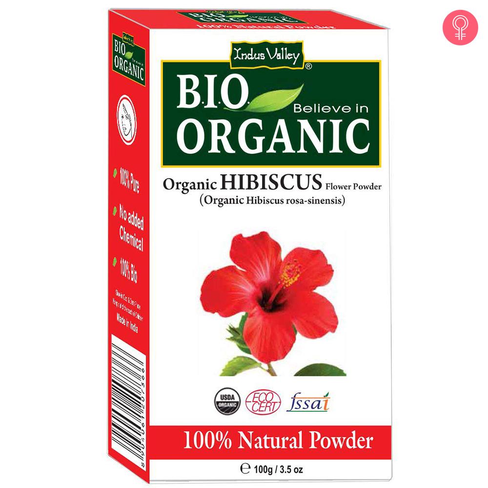 Indus Valley Bio Organic Hibiscus Powder