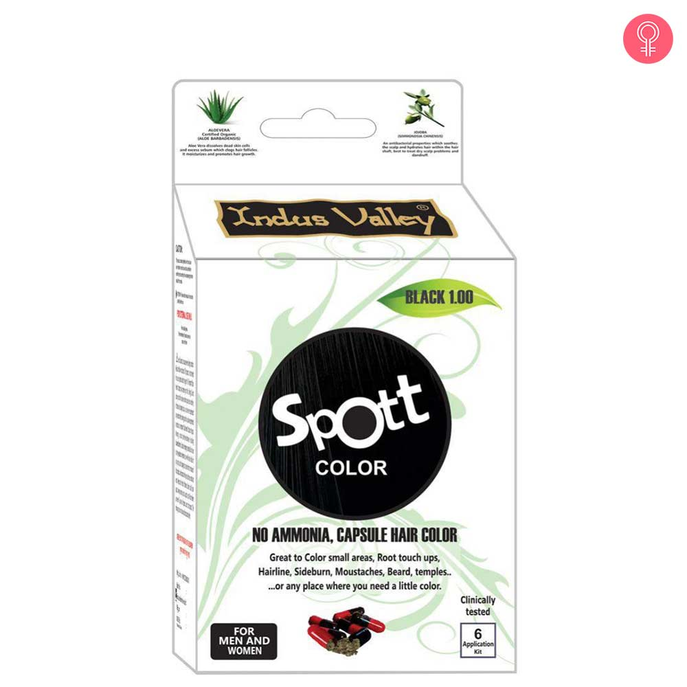 Indus Valley Spott Black Hair Color Capsule