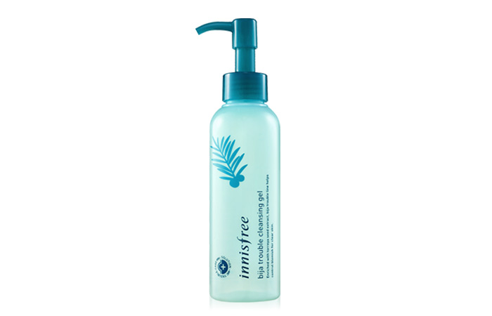 Innisfree Jeju Bija Anti-Trouble Cleansing Gel