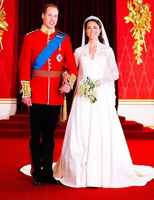 Kate Middleton's Wedding Dress – $434,000