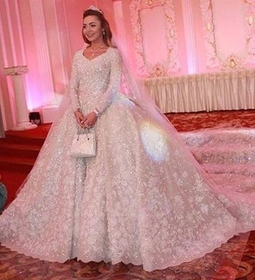 Khadija Uzhakhovz Wedding Dress – £20,000