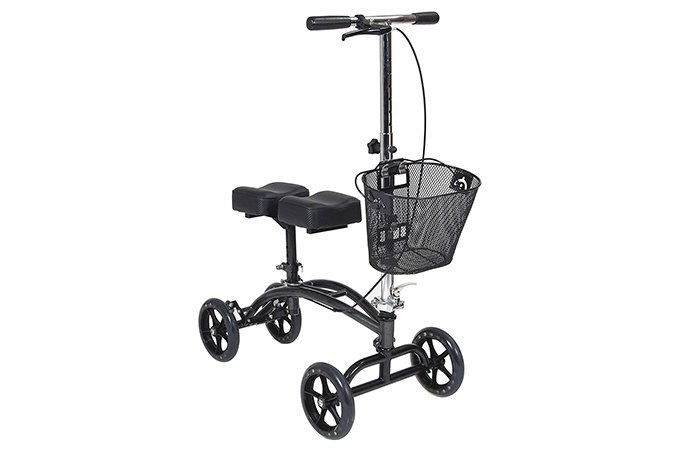 Knee Scooter With Dual Pad
