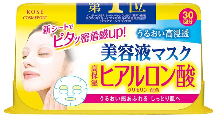 Clear Clear Essence Hyaluronic Acid Facial Mask
