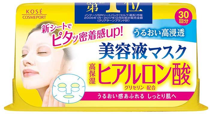 Kose Clear Turn Essence Hyaluronic Acid Facial Mask