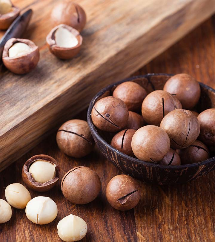 Macadamia Nuts Benefits and Side Effects in Hindi