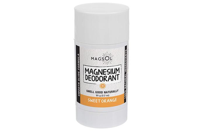 Magsol Sweet Orange Magnesium Deodorant