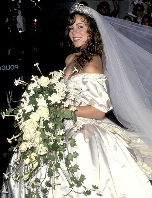 Mariah Carey's Wedding Dress – $250,000