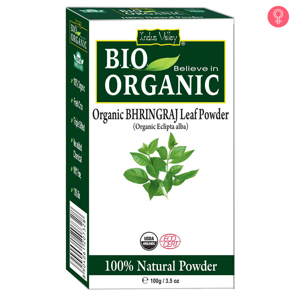 Indus Valley Bio Organic 100% Natural Bhringraj Powder
