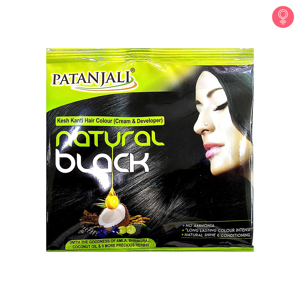 Patanjali Kesh Kanti Natural Black Hair Colour