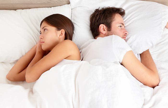 No Heated Conversations Before Bed