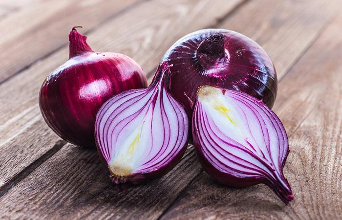 Onion for ache molar pain