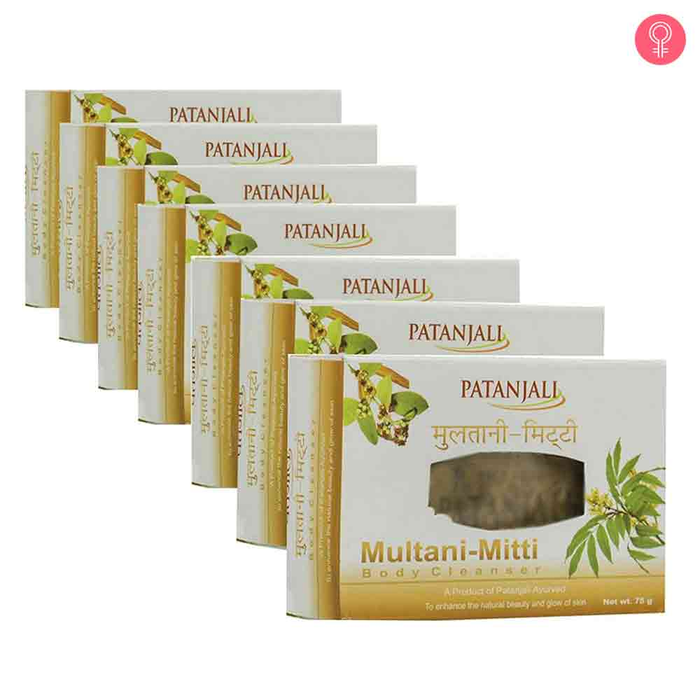 Patanjali Multani Mitti Body Cleanser Soap
