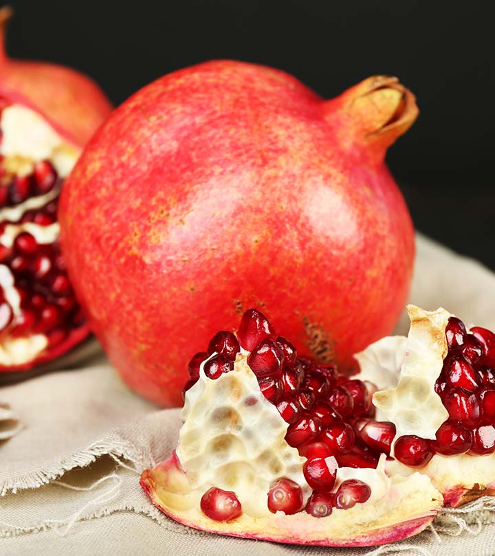 Pomegranate Peel Benefits and Side Effects in Hindi