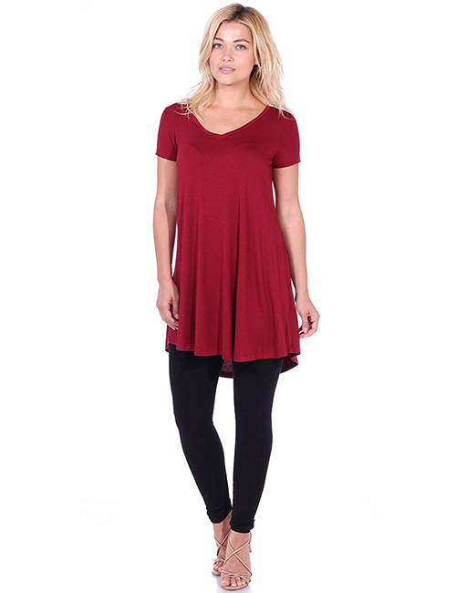 Popana Women's Plus-Size Tunic Top