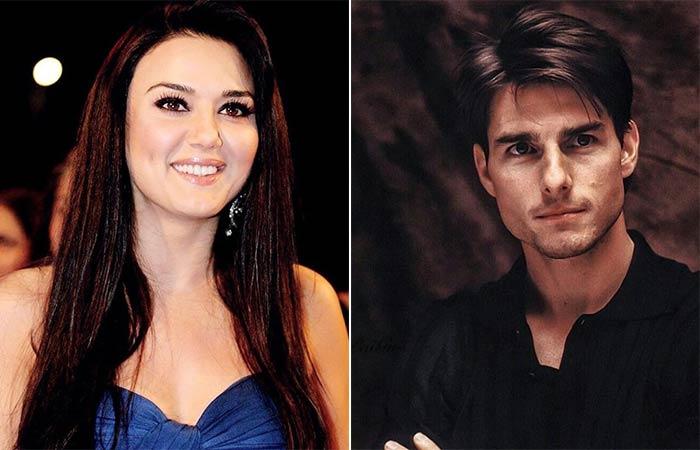 Preity Zinta- Tom Cruise