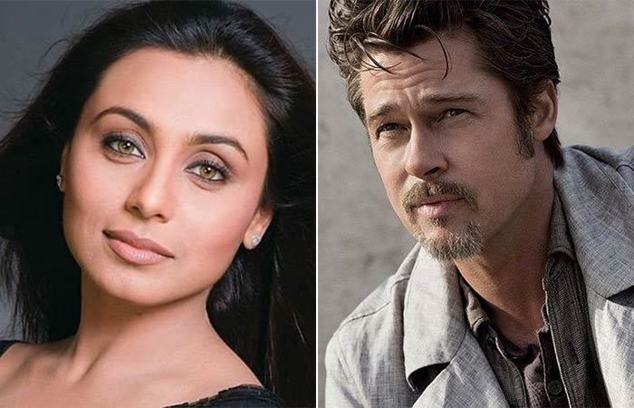 Rani Mukherjee- Brad Pitt