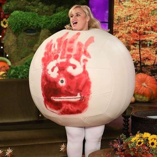 Rebel Wilson- Wilson, The Volleyball From Castaway