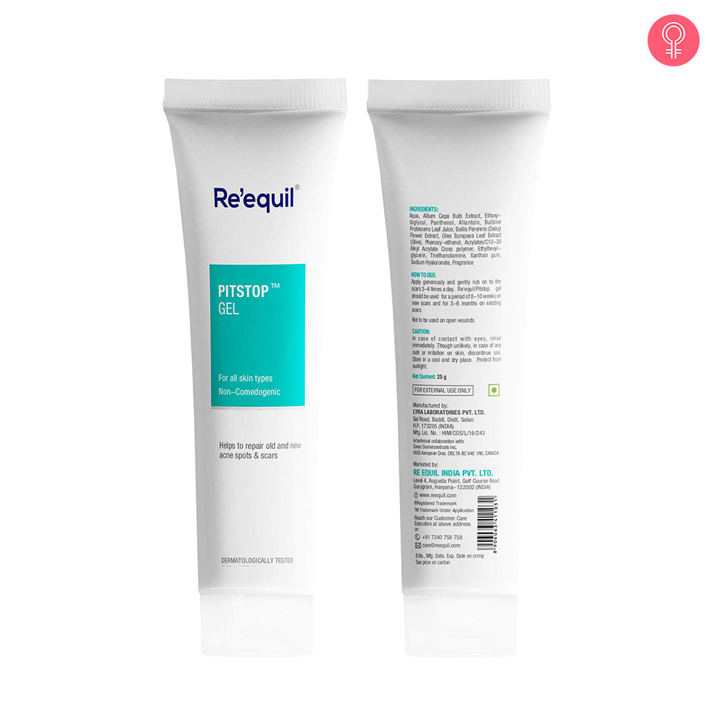 Re'equil Pitstop Gel For Acne Scars & Pits Removal-1