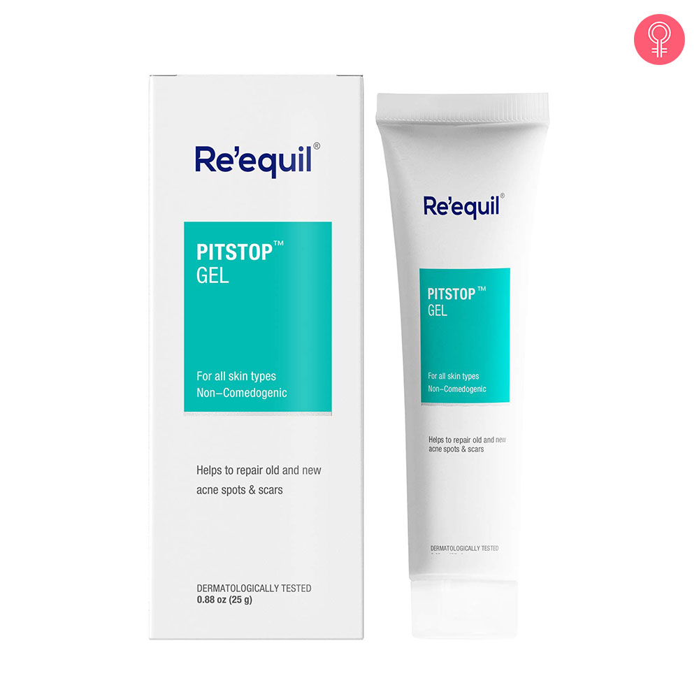 Re'equil Pitstop Gel For Acne Scars & Pits Removal