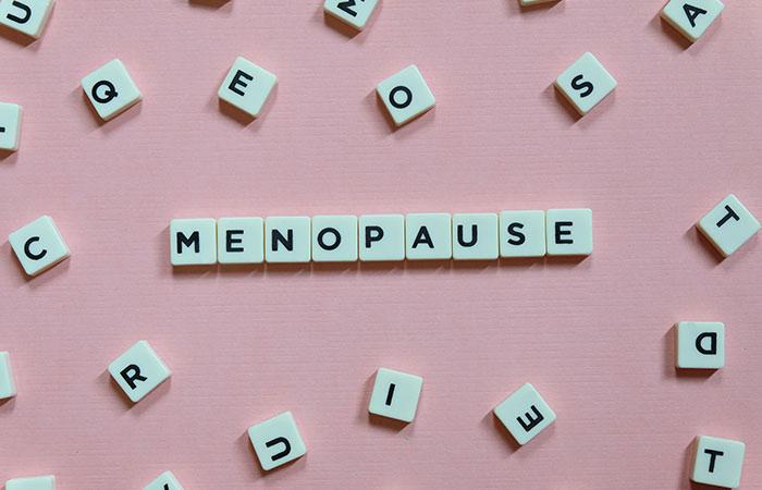 Relief of menopause symptoms