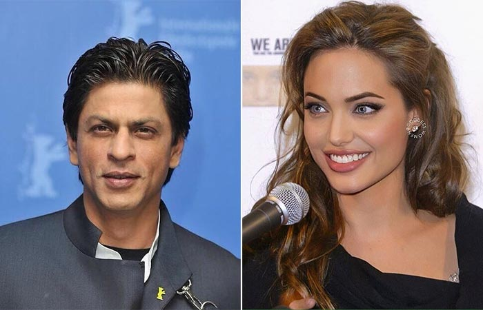 SRK- Angelina Jolie
