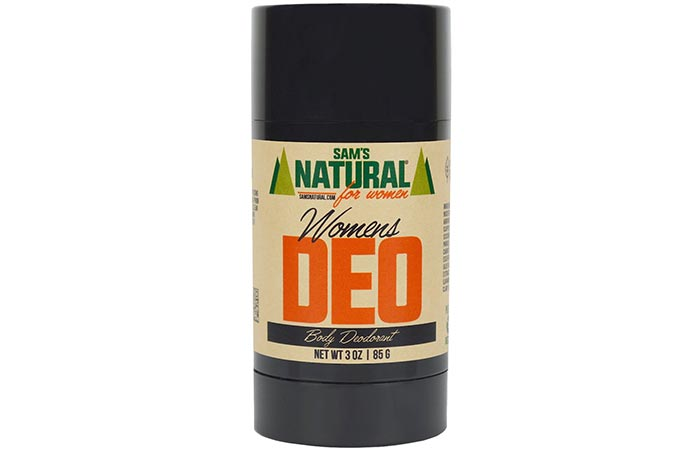 Sams Natural Women's Deo