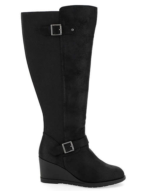 Simply be Sally Wedge Knee High Boots