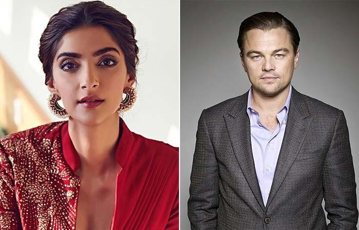 Sonam Kapoor- Leonardo DiCaprio