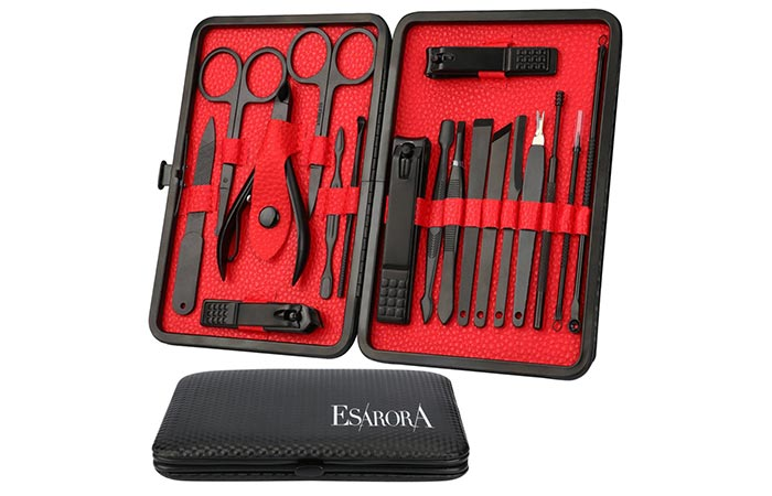 Stainless Steel Professional Pedicure Kit