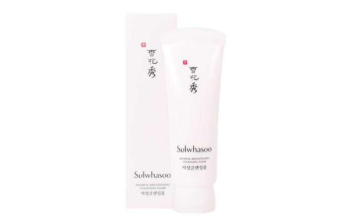 Sulwhasoo Snowise Brightening Cleansing Foam