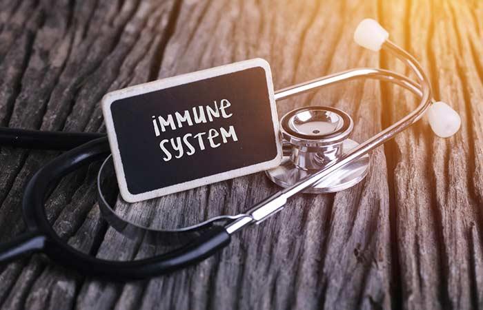 Sunflower oil to increase immunity