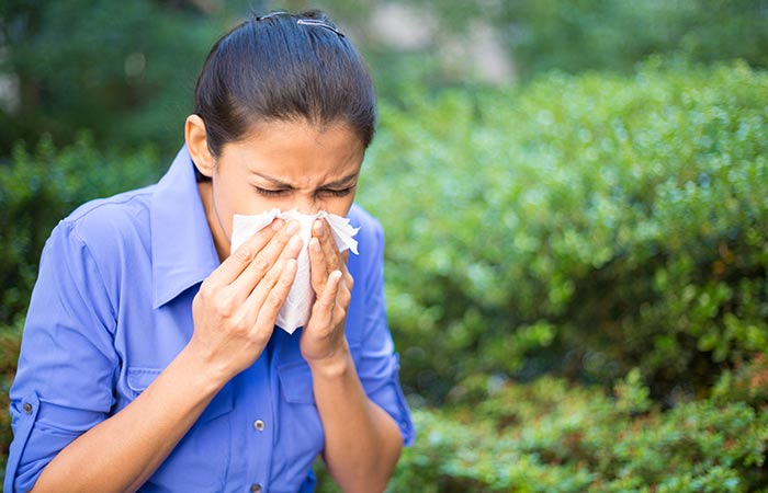 Symptoms of Allergic Rhinitis in Hindi