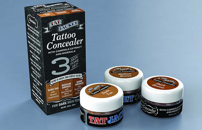 Tatjacket Tattoo Cover Up Liquid Concealer