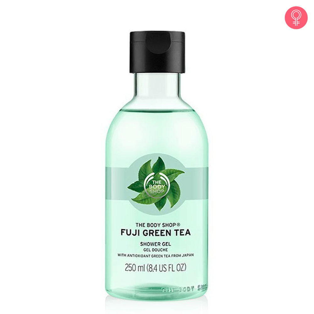 The Body Shop Fuji Green Tea Shower Gel