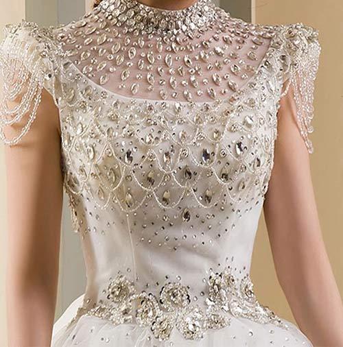 The Diamond Wedding Dress – $12 Million