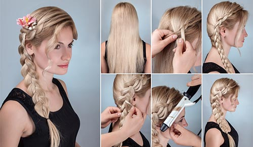 Three-Strand Side Braid