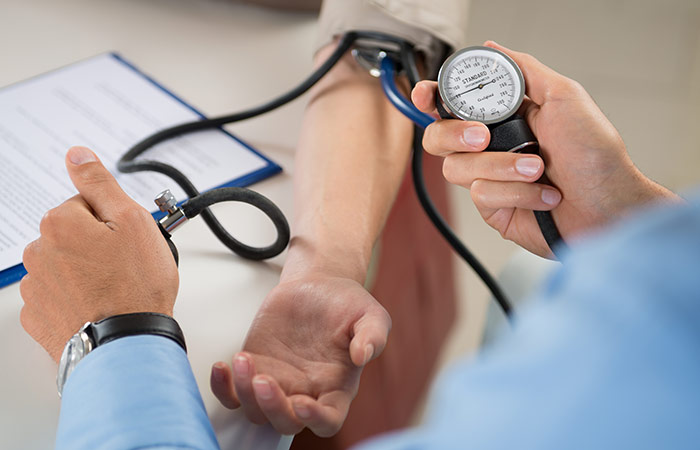 To control blood pressure