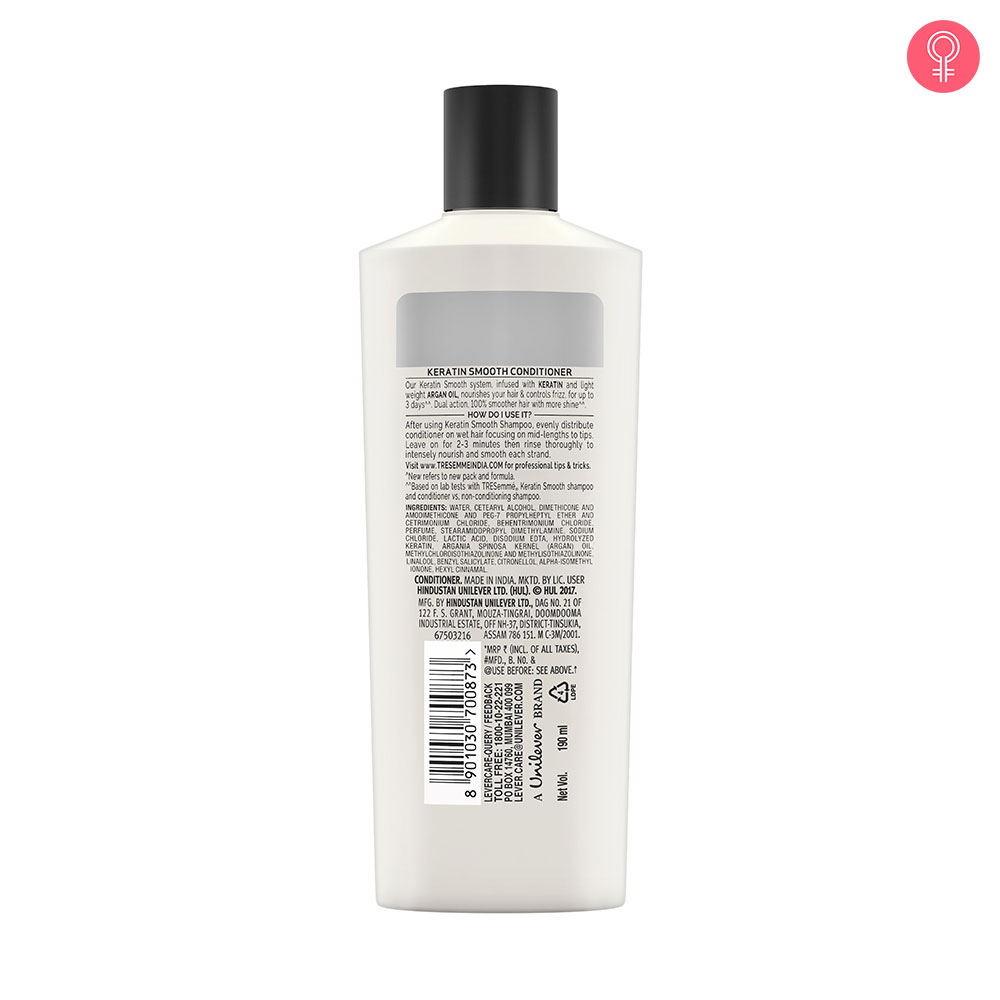 Tresemme Keratin Smooth Infusing Conditioner