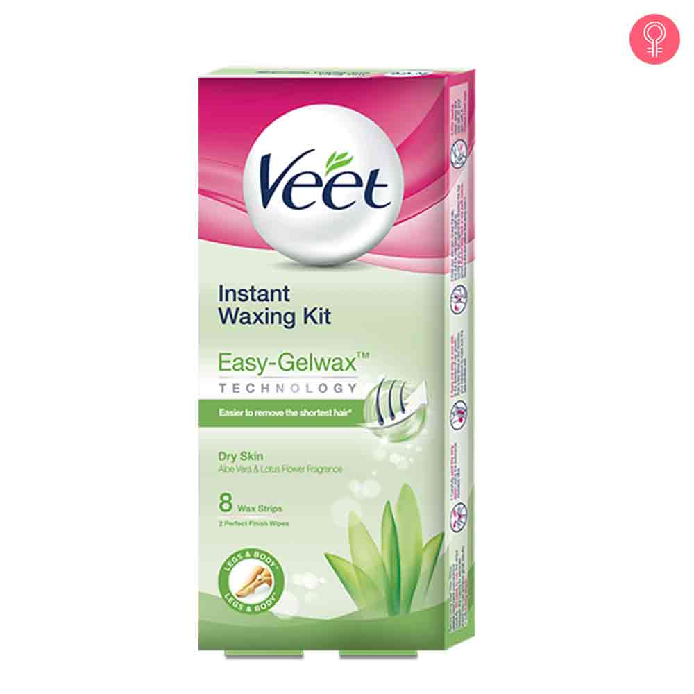 Veet Cold Wax Strips – Instant Waxing Kit-0