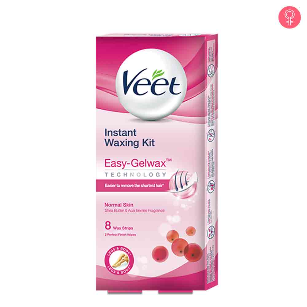 Veet Cold Wax Strips – Instant Waxing Kit