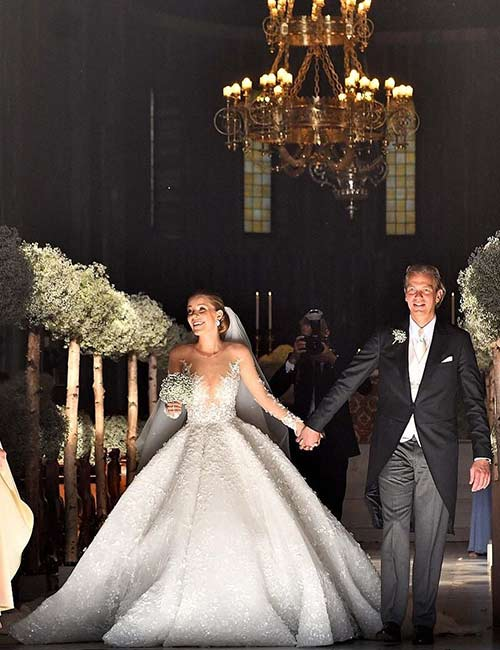 Victoria Swarovski's Crystal Gown – $1 Million