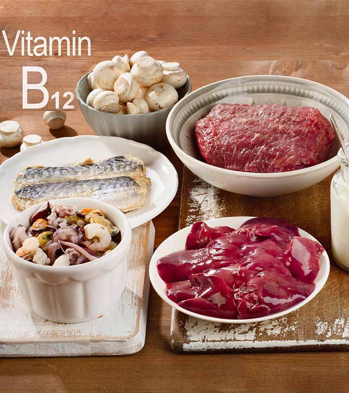 Vitamin B12 Rich Foods in Hindi
