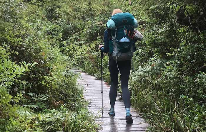Wear When Hiking During Rainy Days