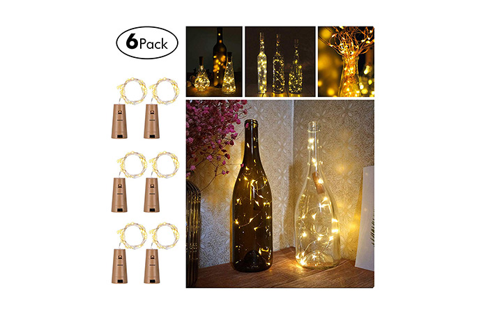 Wine Bottles String Lights