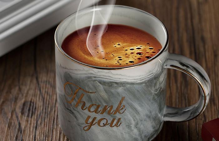 Ylyycc Thank You Ceramic Coffee Mugs